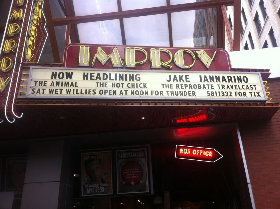 Jake and his Travel Adventures at Improv