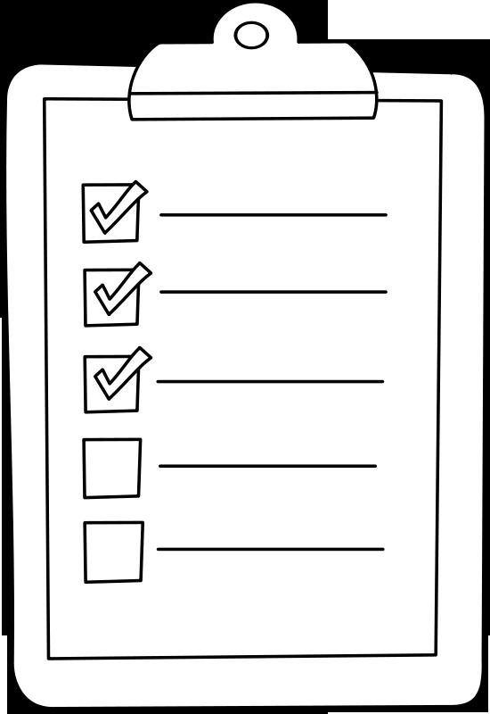 Travel checklist for travel preperation
