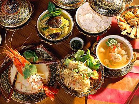 Sample the foods of the world