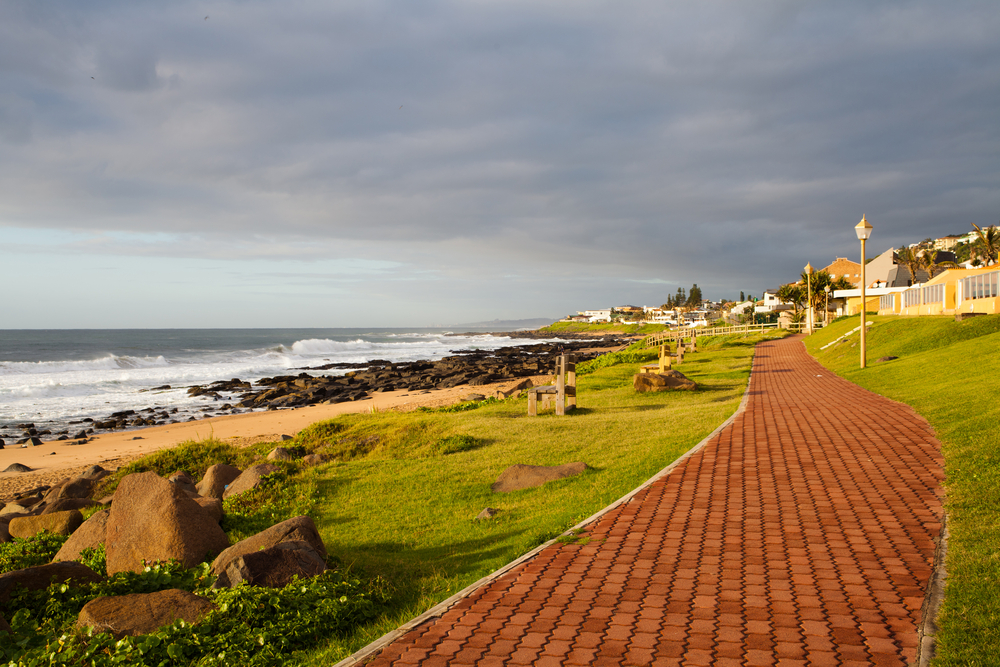 Durban Located On The South African