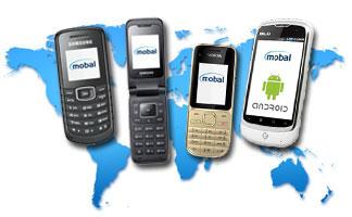International dialing from world phones