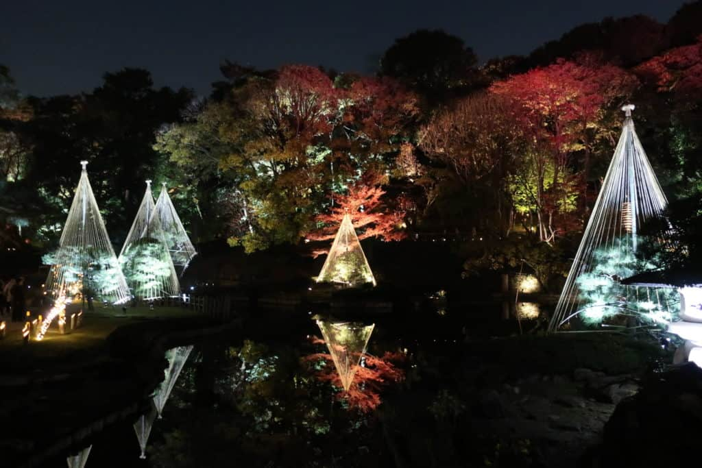 Water Reflections at Higo-Hosokawa Garden