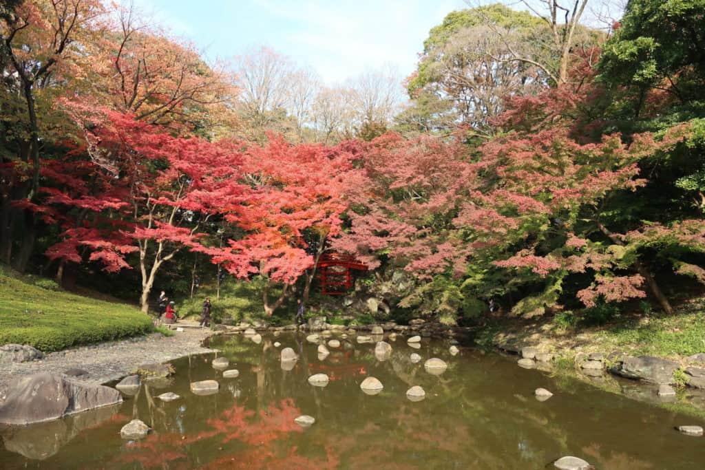 Koishikawa Korakuen Garden's Tsutenkyo Bridge