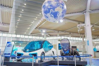 future japan cars odaiba