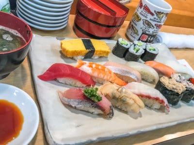 sushi fish market tsukiji sim