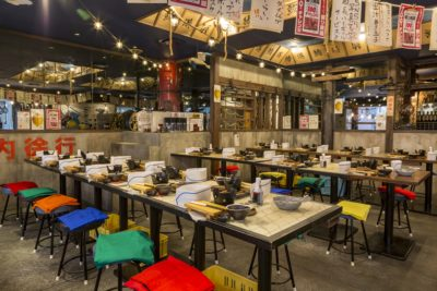 tuna eat as much as you like bar restaurant tokyo