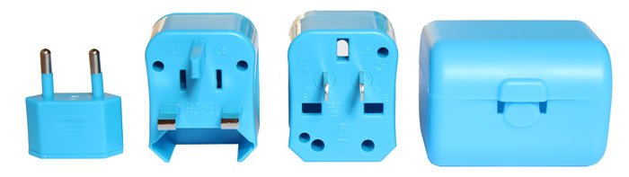 Free travel adapters worth $18