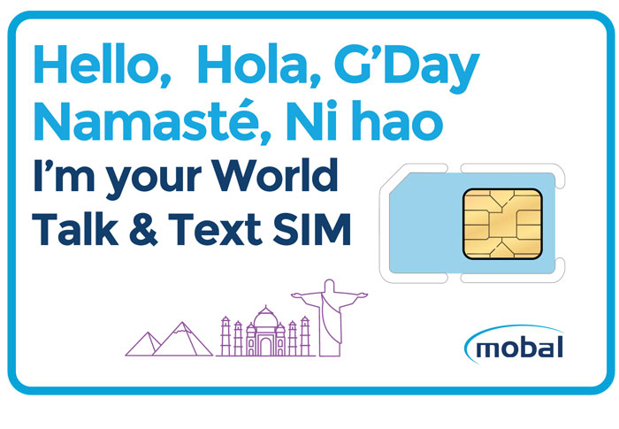 International SIM Card | For Calls, Texts and Data when Roaming