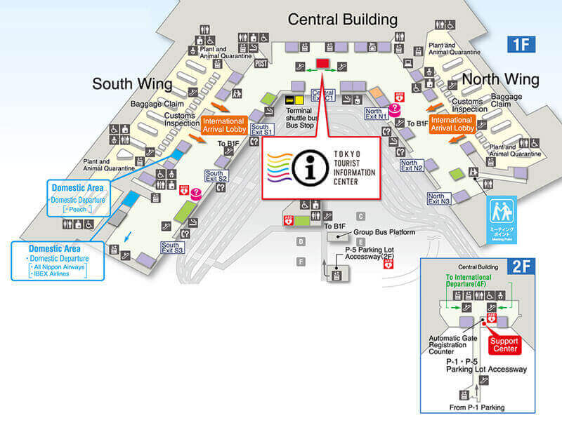 map of jtb Travel Center
