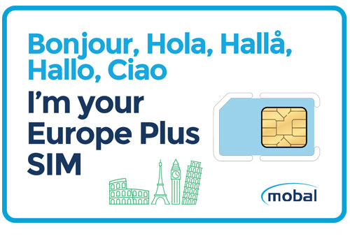 Europe SIM Card | Fast 4G Data, Low Cost Calls and No Contract!